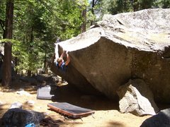 Rock Climbing Photo: Bouldering near Camp 4