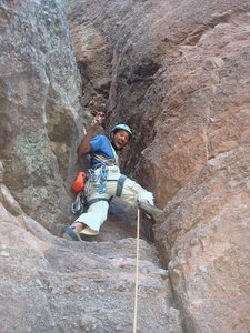 Rock climb portent for Portent path