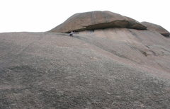 Rock Climbing Photo: Me on top of pitch 4 just happy ro be alive, it st...