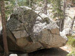 Rock Climbing Photo: The Flash Gordon Boulder, Tramway