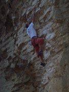 Rock Climbing Photo: Steve on Bovine Direct.