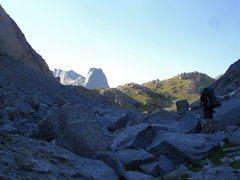 Rock Climbing Photo: Jackass Pass.   The hike to the Cirque wasn't as b...
