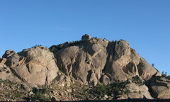 Rock Climbing Photo: Tick Dome as seen from near the base of Petered Ou...