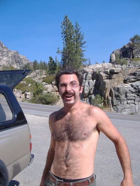 Rock Climbing Photo: Dang-old man I tell ya what!  Donner Pass Fun