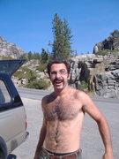 Rock Climbing Photo: Dang-old man I tell ya what!  Donner Pass Fun