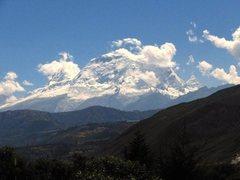 Rock Climbing Photo: Huascaran from near Carhaz.