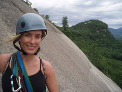 Rock Climbing Photo: Heather Selitrennikoff, White Horse, NH