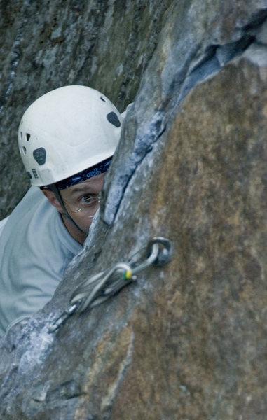 Rock Climbing Photo: Randy rippin.