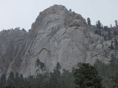 Rock Climbing Photo: This was taken on August 10, 2008.  Rain moved in ...