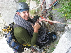Rock Climbing Photo: These rap slings are sweet!!  When did they stop m...