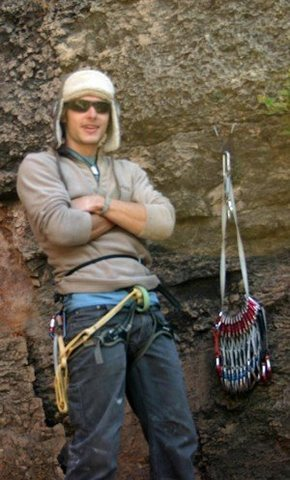 Rock Climbing Photo: The sport climbers made fun of me for my small nut...