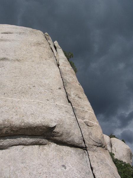 Hand Jive - fun climb on a nice crack!