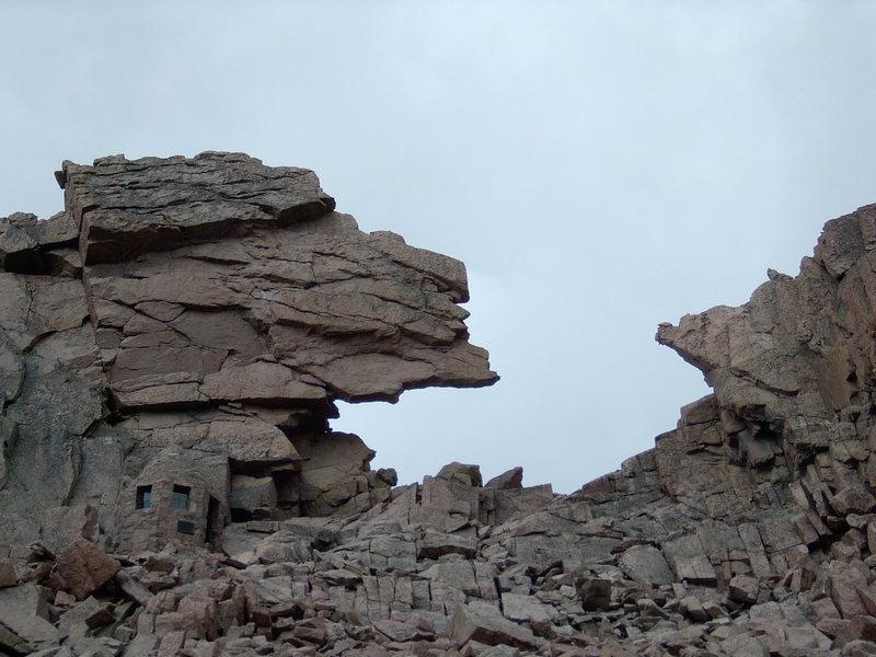 Rock Climbing Photo: The Keyhole.