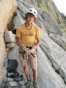 Rock Climbing Photo: George after taking an 80 footer, with his ripped ...