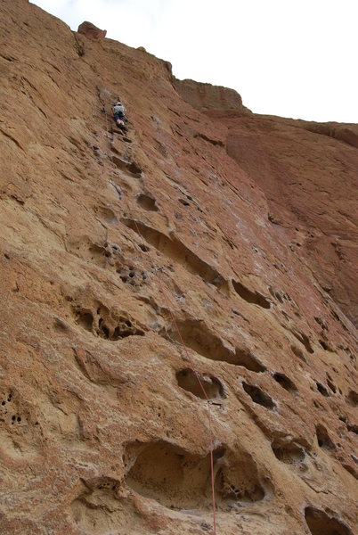 Rock Climbing Photo: Me at the top of 5.