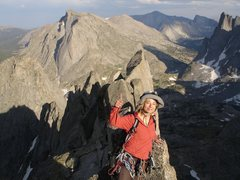 Rock Climbing Photo: My baby on Wolfs Head