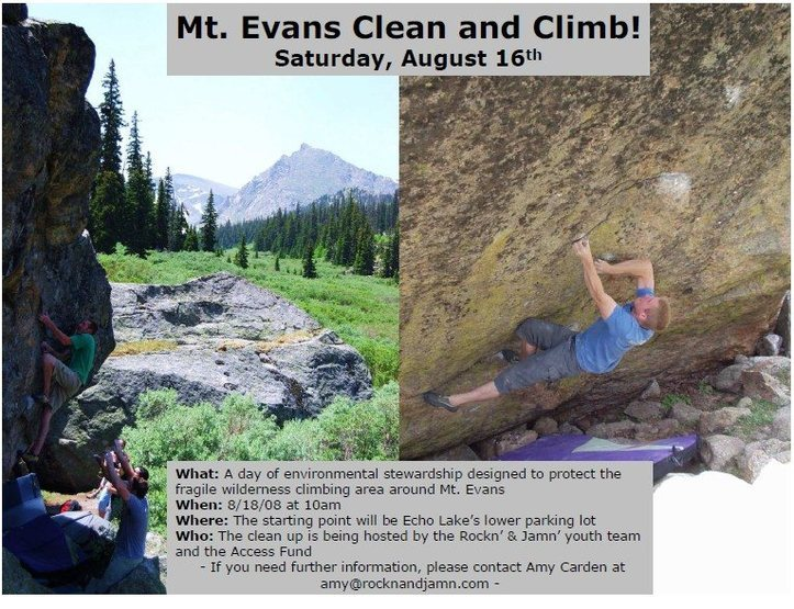 Rock Climbing Photo: mt evans