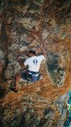 Rock Climbing Photo: JB on Delt Melt back in 1999.