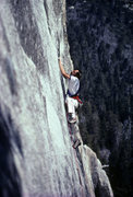 Rock Climbing Photo: On the business during the 1985 FFA.  Photo: Kevin...