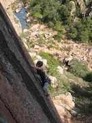 Rock Climbing Photo: Crazy Alice, The Narrows, Wichita Mountains, Oklah...