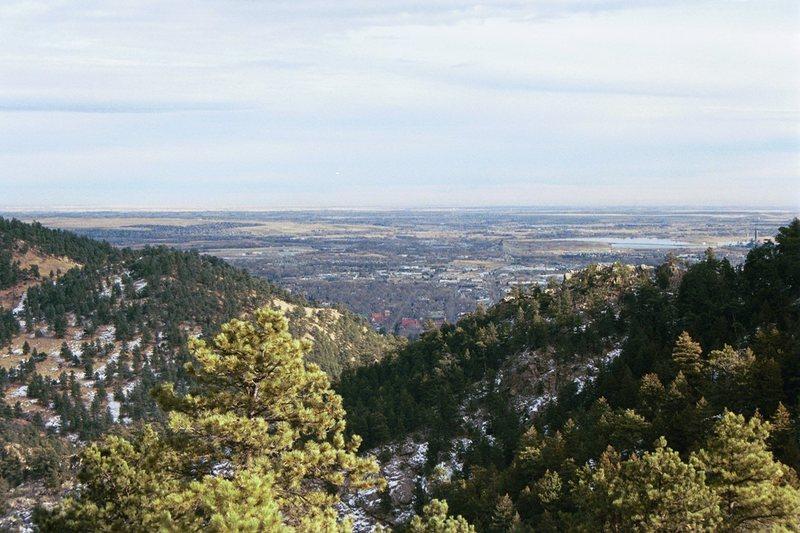 Rock Climbing Photo: Boulder, Colorado.