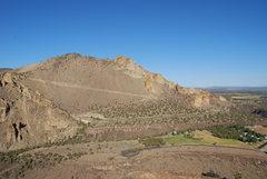 Rock Climbing Photo: Looking towards Stander Ridge.