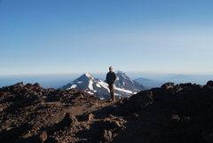 Rock Climbing Photo: Me at the top.