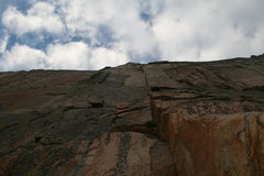 Rock Climbing Photo: start of the casual route.  if you look there is a...