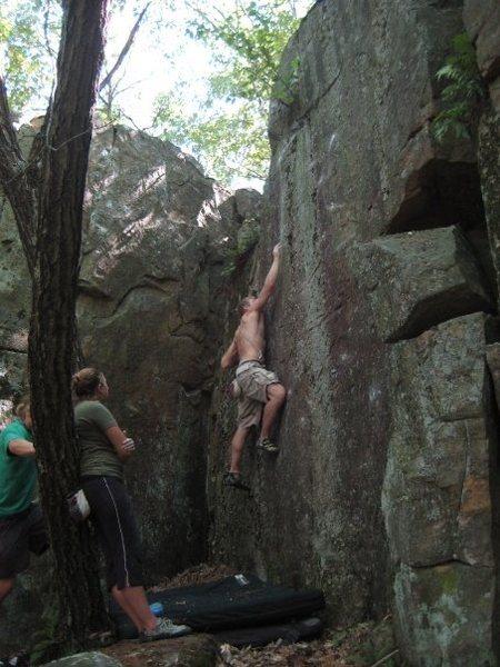 Rock Climbing Photo: again...