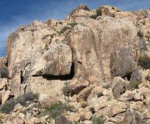 Rock Climbing Photo: Small World. Photo by Blitzo.