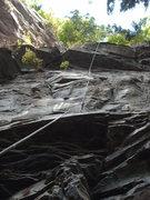 Rock Climbing Photo: Mrs. Norris