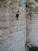 Rock Climbing Photo: Urs having fun on the classic Zorro 5.11d.