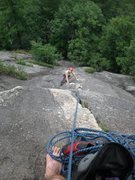 Rock Climbing Photo: Sofi from the first belay