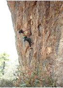 Rock Climbing Photo: Leona Mukai samples Spiderman.