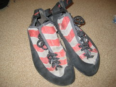 Rock Climbing Photo: Red Chili Voodoo shoes