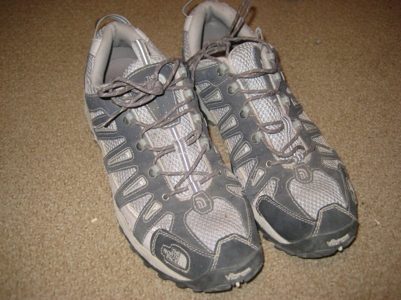 Rock Climbing Photo: TNF trail running shoes
