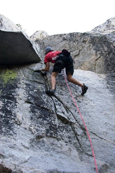 Finishing the crux of Immortal, 5.7