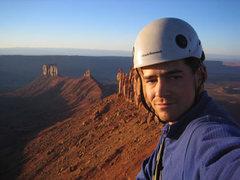 Rock Climbing Photo: Me on the Summit of Castleton