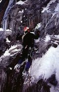 Rock Climbing Photo: J.O. on an early ascent of LA's Real McCoy.