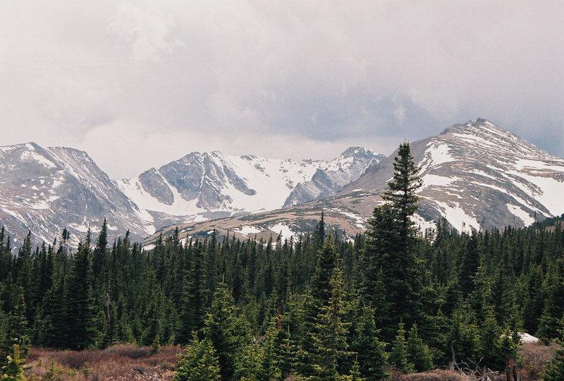 Arapaho Glacier.