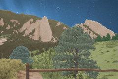 Rock Climbing Photo: The Flatirons of Boulder.