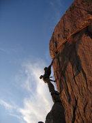Rock Climbing Photo: Tim Long...Firecracker.