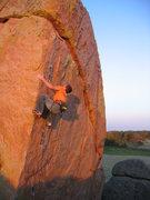 Rock Climbing Photo: Justin Edl, keeping it real.