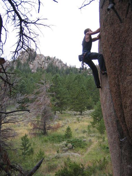 Rock Climbing Photo: Sooo good, me next, me next.