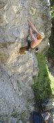 Rock Climbing Photo: Jonny Wilson taming the crux of Chupacabra (5.10a)...