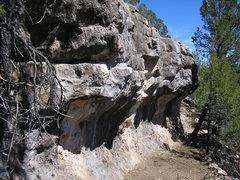 Rock Climbing Photo: NPR wall.