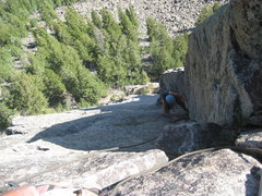 Rock Climbing Photo: Such a great pitch