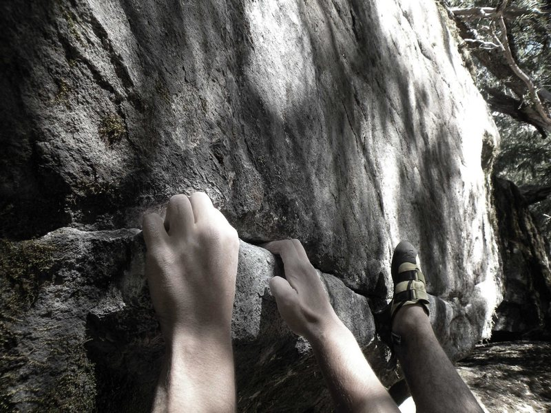Bouldering in The Valley