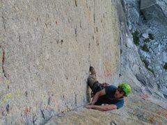 Rock Climbing Photo: Dustin of the awsome corner picth of OZ
