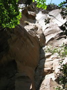 Rock Climbing Photo: Vertebrae...  With the Sword pitch on the right.